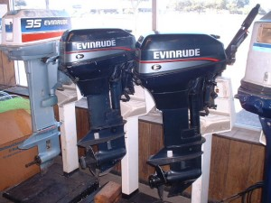 Sold 1994 Evinrude 9.9 hp Electric Start $995.00> Sold Evinrude 15 hp $1150.00 -SOLD Motor have been serviced and are ready to go